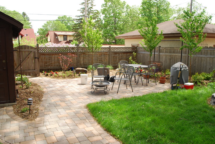 image - Transform Outdoor Living Space with Paver Patio and Cool Landscaping