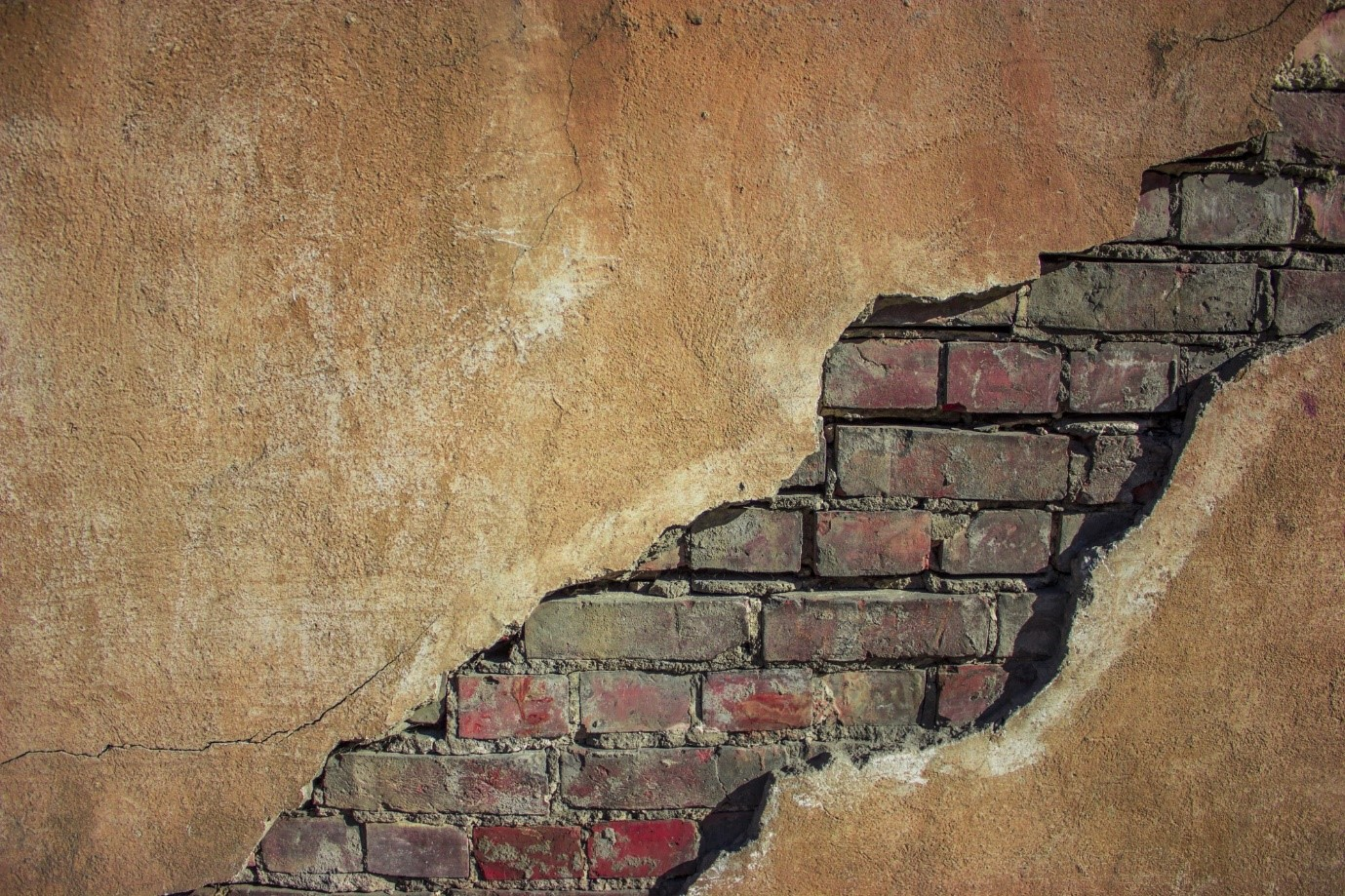 image - This Is How to Fix a Cracked Brick Wall