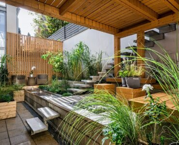featured image - 5 Hardscape Design Ideas to Give Your Backyard A Modern Look