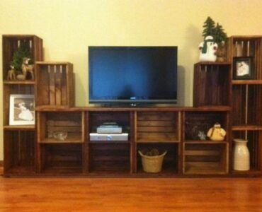 featured image - 5 Homemade Entertainment Centers You Can Build on a Budget
