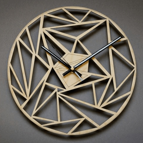 image - Decorative Oversized Clock for Wall