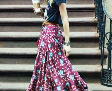 Featured image - Different Ways of Styling Maxi Skirts