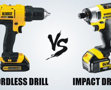 featured image - Cordless Drill vs. Impact Drill