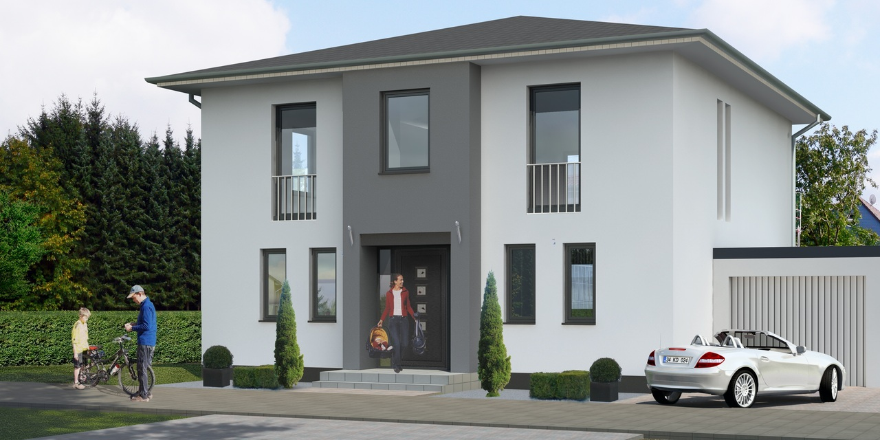 image - 4 Different House Rendering Styles