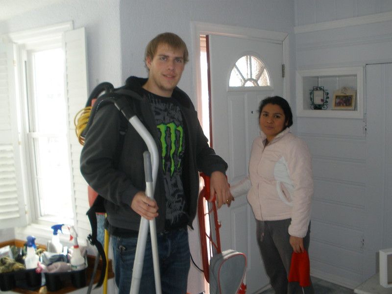 image - The Hard Side of Cleaning the House
