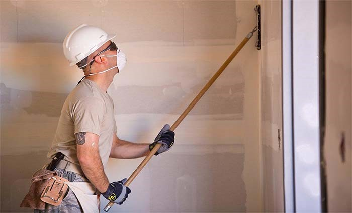 image - How to Sand Drywall Fast (Sanding Patch, Mud, Corners, Ceiling)