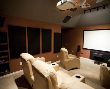 featured image - What to Consider When Designing a Home Theater