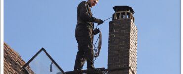 featured image - 4 Reasons You Should Leave Chimney Cleaning to the Experts