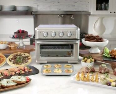 featured image - Cuisinart Toa-60 Convection Toaster Oven Air Fryer, An Essential Item of Your Kitchen