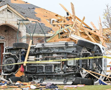 featured image - A Complete Checklist of Storm Damage Roof