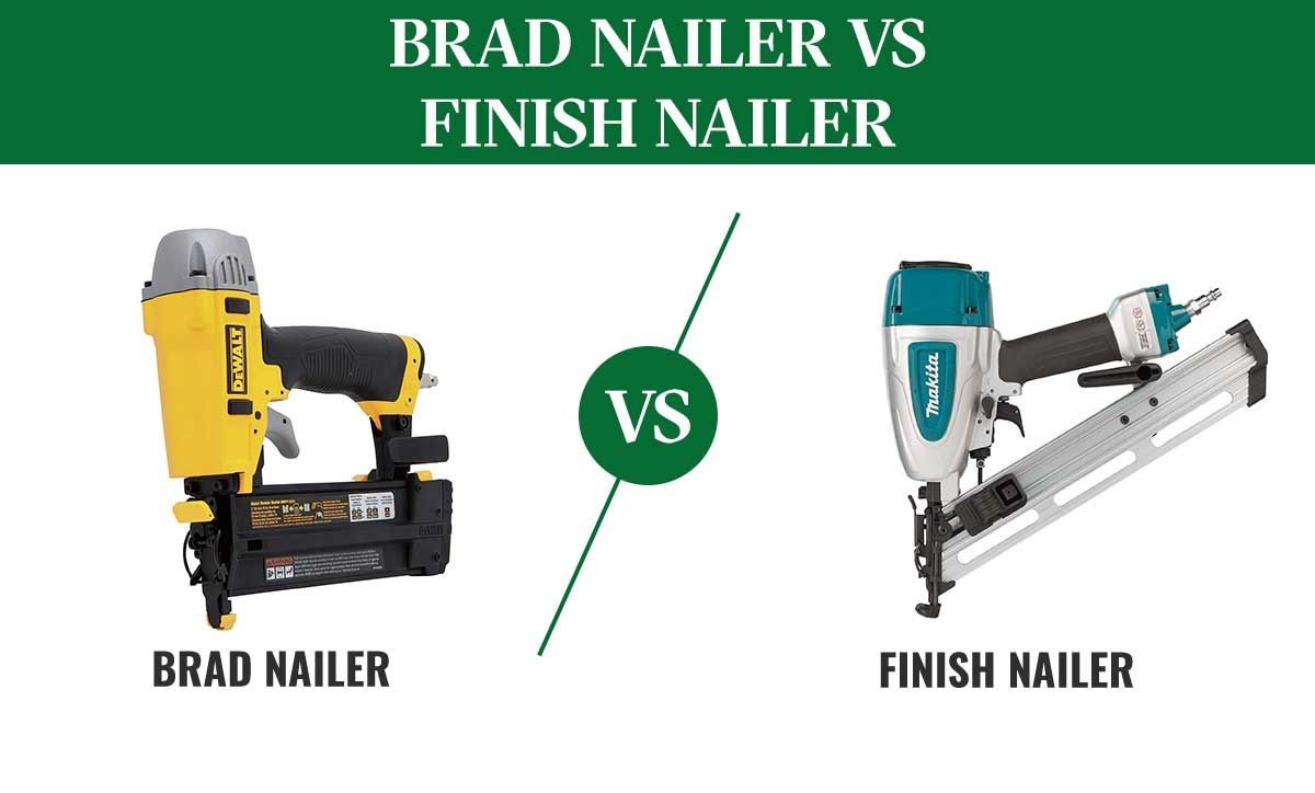 image - Finish Nailer vs. Brad Nailer, what are the Differences?