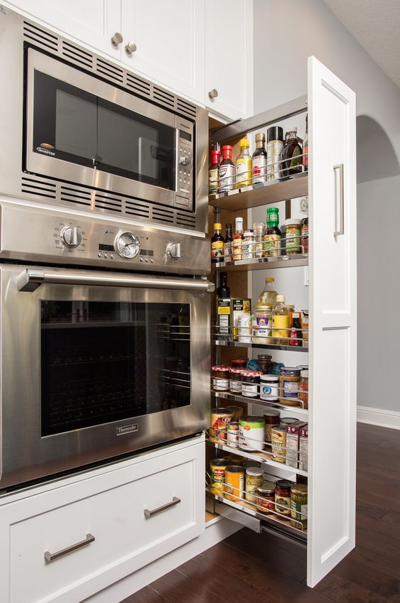 image - Pull-Out Cupboards for Built-In Space