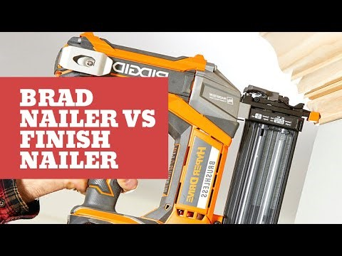 image - What are the Differences Between a Brad Nailer and a Finish Nailer?