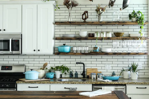 image - Go for the Open Shelving Style