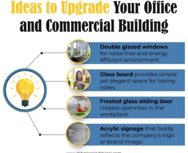 featured image - Ideas to Upgrade Your Office or Commercial Building with Glass and Mirror