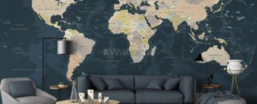 featured image - Political Map Wallpaper Ideas for Education and Study