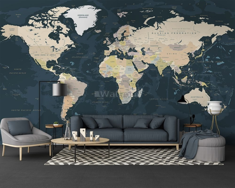Political Map Wallpaper Ideas for Education and Study