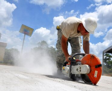 featured image - Is Cutting Concrete Dangerous