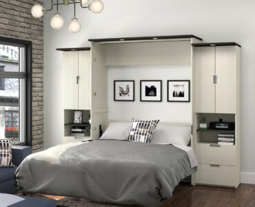 featured image - Maximize Space in Any Room: A Murphy Bed with Desk