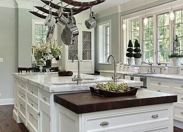 featured image - How Much Does It Cost to Paint Kitchen Cabinets