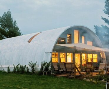 featured image - Quonset Hut Homes | Types and Designs Ideas